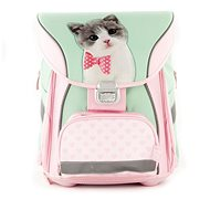 Briefcase with Front Pocket Studio, Pets, Cute Kitty - School Backpack