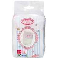 Baby Annabell Diapers, 5 pcs - Doll Accessory