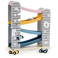 Wooden Slide with Cars - Wooden Toy