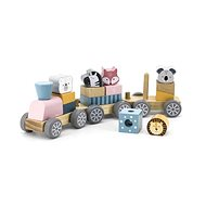 Wooden Car with Animals - Train