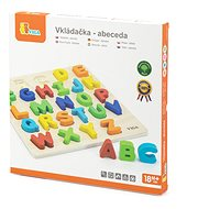 Wooden Jigsaw Puzzle - Letters - Puzzle