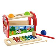 Wooden hammer and xylophone - Wooden Toy