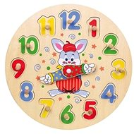 Wooden clock - Wooden Toy
