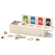 Wooden Waste Sorting - Wooden Toy