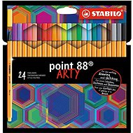 STABILO Point 88 ARTY - set of 24 pieces - Liner