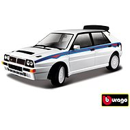 Bburago Race Lancia Delta HF Integrale EVO 2 White - Model