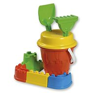 Androni Set of Sand Castle with Ramparts - Medium, Blue - Sand Tool Kit