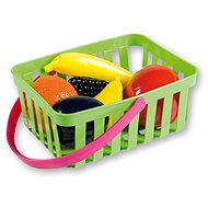Androni Shopping Basket with Vegetables - 10 pieces, Green
