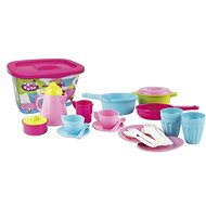 Androni Coffee and kitchen set with storage box - 26 parts - Children's Toy Dishes