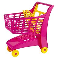 Androni Shopping trolley with seat - pink - Toy Cart