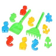 Androni Sand Builders 10 pieces - Sea World + Shovels and Rakes