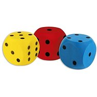 Androni Soft Cube - size 16cm, Yellow - Children's Ball