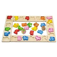 Wooden game - animal carnival - Educational Toy