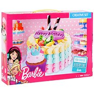 Barbie - Color model - Birthday cake - Modelling Clay