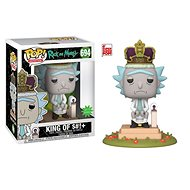 "Funko POP Animation: Rick & Morty S2 - King of $#!+ w/Sound 6"" - Figure"