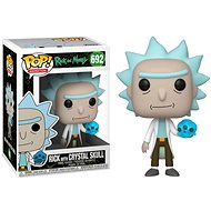 Funko POP Animation: Rick & Morty S2 - Rick w / Crystal Skull - Figure