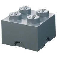 LEGO storage box 4 - dark gray - Storage Box