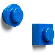 LEGO magnets, set of 2 - blue - Magnet