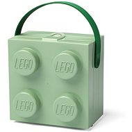 LEGO box with handle - army green - Snack Box