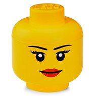 LEGO storage head (mini) - girl - Storage Box