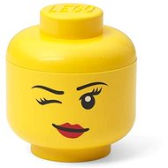 LEGO storage head (mini) - whinky - Storage Box