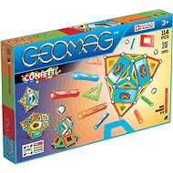 Geomag Confetti 114 - Magnetic Building Set