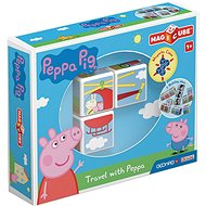 Magicube Peppa Pig Travel with Peppa - Magnetic Building Set