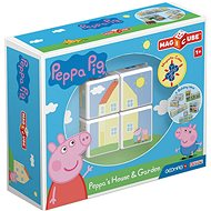 Magicube Peppa Pig Peppa´s House & Garden - Magnetic Building Set
