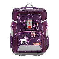 SPACE school briefcase for first-graders - 5-piece set, Step by Step Unicorn, AGR certificate - School Set