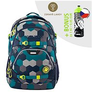 School backpack coocazoo ScaleRale, Blue Geometric Melange, AGR certificate - School Backpack