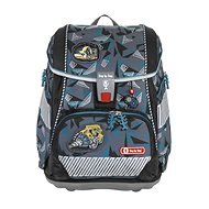 School briefcase / backpack 2V1 for first graders - 6-piece set, Step by Step Stone, AGR certificate - School Set