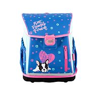 Hama School briefcase for first-graders Blue Dog