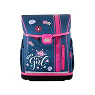 Hama School briefcase for freshmen Jeans Girl