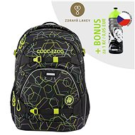 School backpack coocazoo ScaleRale, Laserbeam Black, AGR certificate - School Backpack