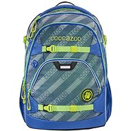 School backpack coocazoo ScaleRale, MeshFlash Neonyellow, AGR certificate - School Backpack