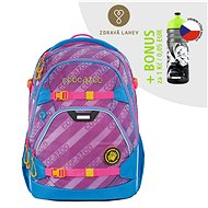 School backpack coocazoo ScaleRale, MeshFlash Neonpink, AGR certificate - School Backpack