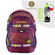 School backpack coocazoo ScaleRale, Soniclights Purple, AGR certificate - School Backpack