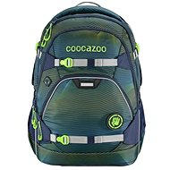School backpack coocazoo ScaleRale, Soniclights Green, AGR certificate - School Backpack