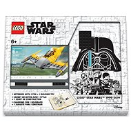 LEGO Stationery Star Wars Naboo Starfighter - Notebook with Pen and Kit - Notebook