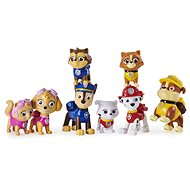 Paw Patrol Gift Pack of 8 Figures with Accessories - Toy Car