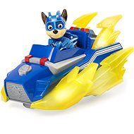 Paw Patrol Mighty Pups Charged Up Deluxe Vehicle - Chase - Game Set