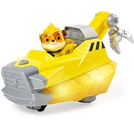 Paw Patrol Glowing Vehicles Heroes with Sounds Rubble - Toy Car