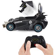 Batman RC Batmobile with Figure and Catapult