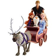 Frozen 2 Sledding Adventures Doll Pack with Sven - Figure