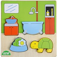 Wooden puzzle, bathroom - Wooden Puzzle