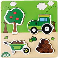 Wooden puzzle, tractor - Wooden Puzzle