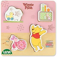 Wooden puzzles Winnie the Pooh, Piggy Bank and Pooh - Wooden Puzzle