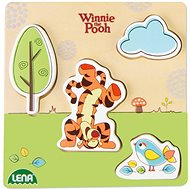 Wooden puzzle Winnie the Pooh, tiger - Puzzle
