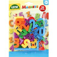Magnetic digits, 30 mm - Magnetic Building Set