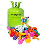 Helium for 50 balloons, disposable container (+50 balloons)